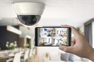 Budget CCTV camera used with APP